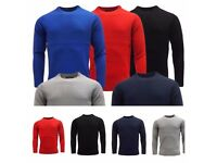 Mens Sweatshirt Knitwear D&H Sweater Jumper Pullover Crew Neck Long Sleeve Tops