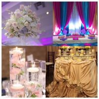 Quality wedding decor an affordable package $850.00