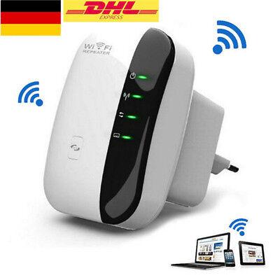 WiFi Range Extender Super Booster 300Mbps Boost Speed Superboost Wireless EU NEU