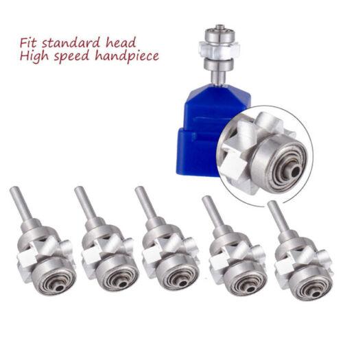 5PC Dental Turbine Cartridge Standard Head Fit NSK DynaLED Push Button Handpiece