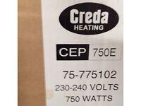 CREDA CEP 750e CONTOUR PANEL HEATER 75-775102