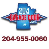 Garage Door Broken? Call 204-955-0060! One hour service!