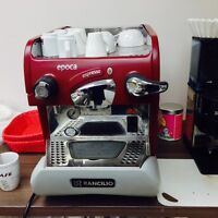 rancilio epoca esoresso machine