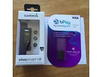 Garmin Vivosmart HR (Purple) & bPay Payment Loop - only £75!