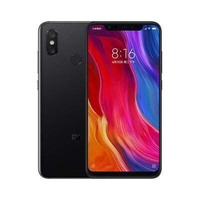 XIAOMI Mi 8 DUAL SIM 128 GB 6GB RAM BLACK NERO DISPLAY 6.21 2248x1080