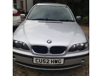 BMW 318i SE AUTOMATIC, SILVER, LONG MOT, VERY GOOD CONDITION FOR THE YEAR, GOOD RUNNER