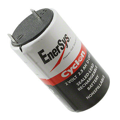 2 Volt 2 5 Amp Hawker Cyclone Enersys 0810 0004 D Cell Sealed Lead Acid Battery