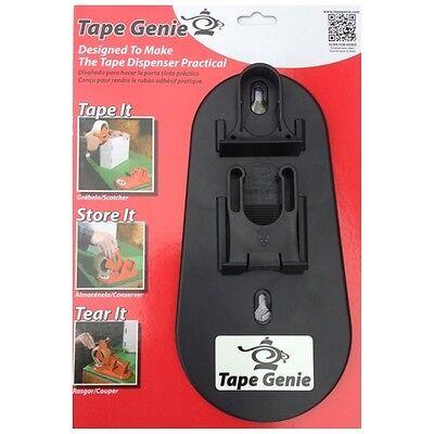 Tape Genie - Transforms Your 2 Tape Gun Into A Multi-purpose Tape Dispenser New