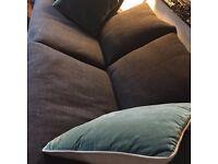 Sofa com sofa, dark grey, 3 seater