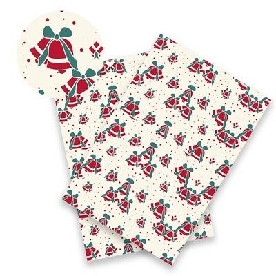 1pcs Christmas Snowman Printed Synthetic Leather Sheet Fabric For DIY Materials (Diy Snowman Costume)