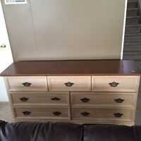 Free Large 7 drawer dresser