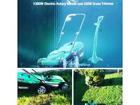 electric rotary mower For sale and trimmer