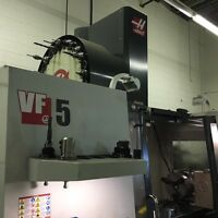 HAAS VF-5 50 TAPER CNC VERTICAL MACHINING CENTER