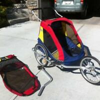 Lost- double chariot stroller cover