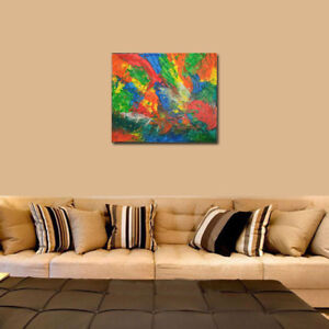 """"""" MONTREAL """". PEINTURE ABSTRAITE, ABSTRACT PAINTING BY CEZAR"""