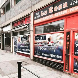 Commercial property to rent on busy high street of Ilkeston.