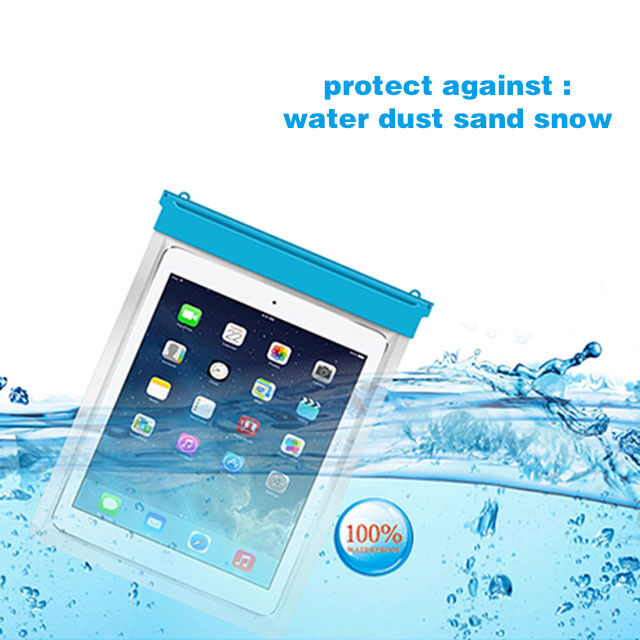 Waterproof Underwater Pouch Dry Bag Case Cover For iPad Tabl