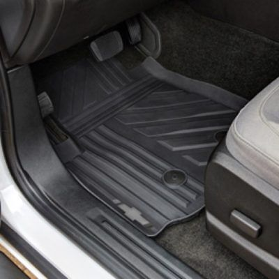 2015 2018 Chevrolet Colorado OEM Front  Rear All Weather Floor Mats Black NEW