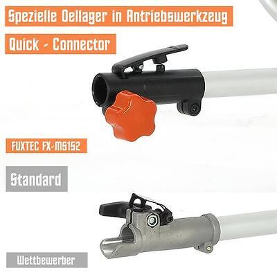 FUXTEC Benzin Motorsense Rasentrimmer MS152 Freischneider Heckenschere Trimmer