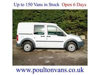 2013 (63) FORD CONNECT T220 SWB 5 SEAT CREW VAN / DOUBLE CAB / COMBI , Small