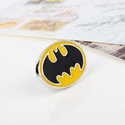 Classic Batman yellow black chrome Pin Badge Cosplay Retro adam west collectible - Female Batman Cosplay