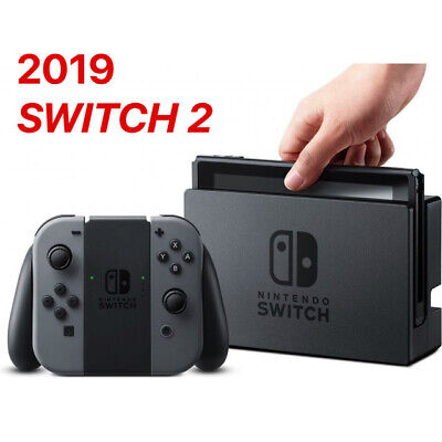 Nintendo, Switch, Nintendo Switch 2 , Gray , 2019 NEW