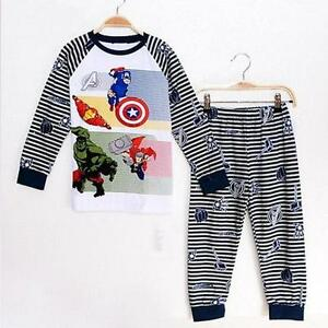 Brand New With Tags-  2T - Super Hero - Avengers Pajama Sets