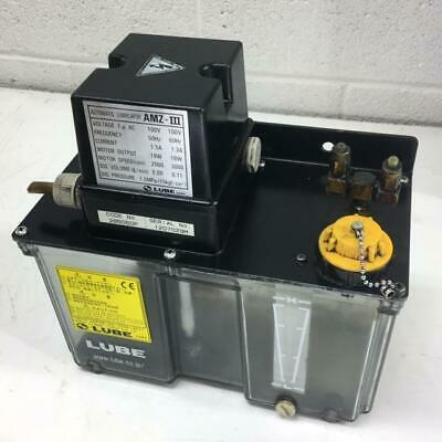 Lube Corp Automatic Lubricator Amz-iii 100v Dis. Volume 0.11 Lmin. Used