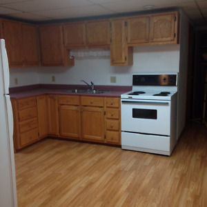 Spacious Heated One Bedroom $600.00 Private driveway and entry