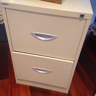 2 Draw Metal Filing Cabinet in good condition Ashgrove Brisbane North West Preview