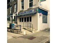 ** Lock up shop, large retail area of 757sq.ft/70sq.mt in Kentish Town, don't miss out !! **