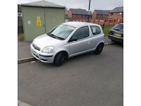 Toyota Yaris 1.0 (Cheap run around)