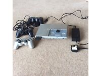 PS2 Sony PlayStation with lots of games