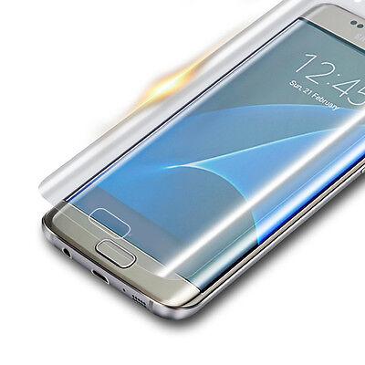 S6 Edge Samsung Galaxy protezione pellicola proteggi schermo 3D curvo NO VETRO