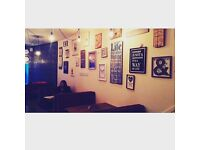 Fully equipped, coffee shop to rent £250 week including all bills or partnership with a chef