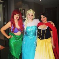 Princess Party, singing let it go from Elsa