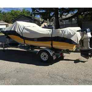16 Severn Campion 115 Hp Evinrude w/Trailer