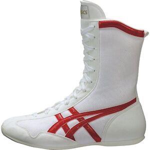 asics japan boxing shoes ms model white tbx704