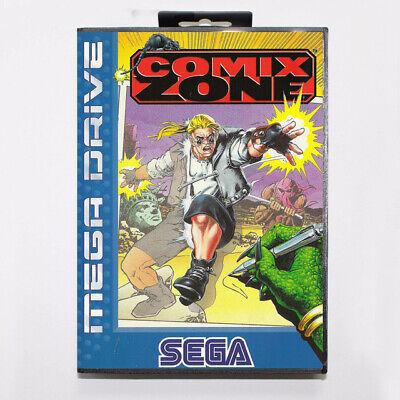 Comix Zone Sega Mega Drive Game with Box
