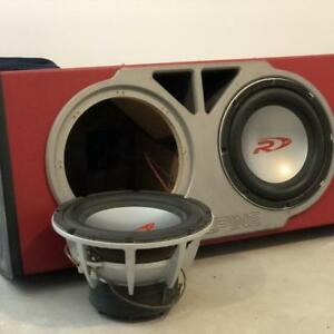 "Alpine 10"" Type R Sub and Amp"