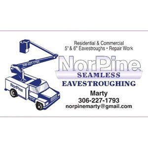 Eavestrough installations and repairs