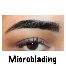 September offer: Microblading £75, Semi permanent make up eyebrows £85, individual eyelashes £40+