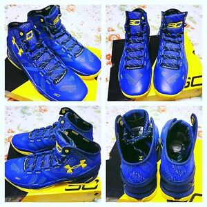Stephen Curry Basketball Shoes! Curry 2's!