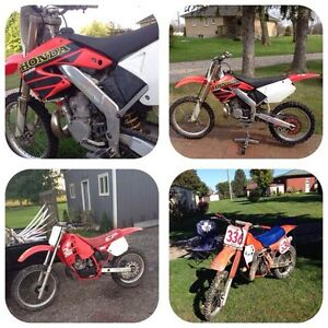 Wanted 1985 and newer bike.
