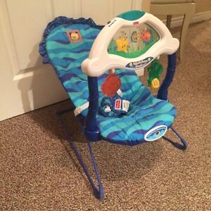 Fisher Price Aquarium Bouncer Cambridge Kitchener Area image 1