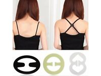 Bra Extender Clips. Extend the life of your bra