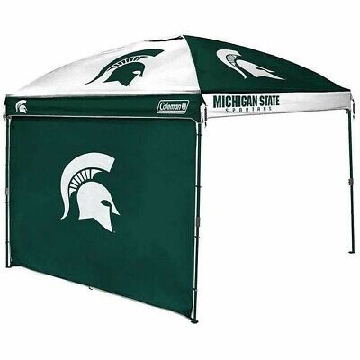 NEW Michigan State Spartans Canopy Tent & Wall Tailgating Picnic Market  Party -