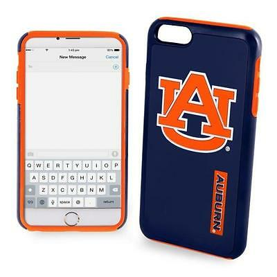 Auburn Tigers NCAA iPhone 6 PLUS Impact Dual Hybrid 2 Piece 3D Phone Case Auburn Tigers Cell Phone Case