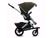 Joolz geo pram with cybex Aton car seat and adapters