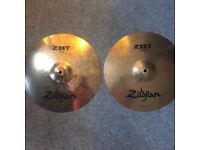 """Zildjian ZBT 13"""" Hi Hats (used)"""
